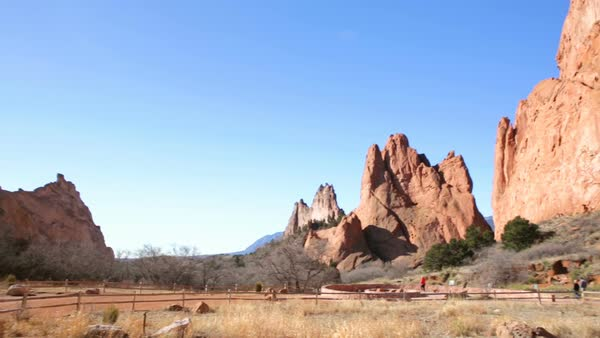 The Garden Of The Gods In Colorado In Winter D1092 117 032