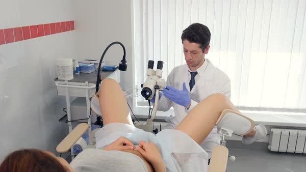 Nurse vaginal exam movie