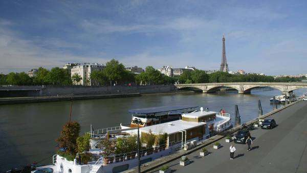 Paris, France Rights-managed stock video