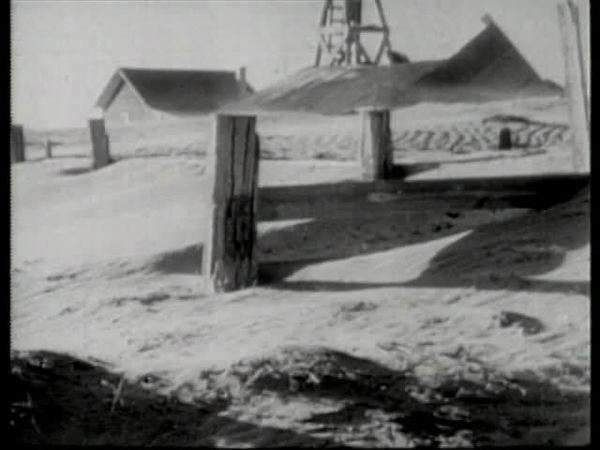 Montage of Oakies during Dust Bowl Rights-managed stock video
