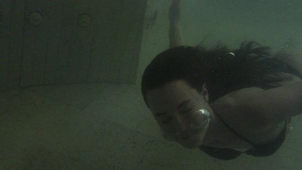 two piece swimsuit - Stock Videos - Dissolve