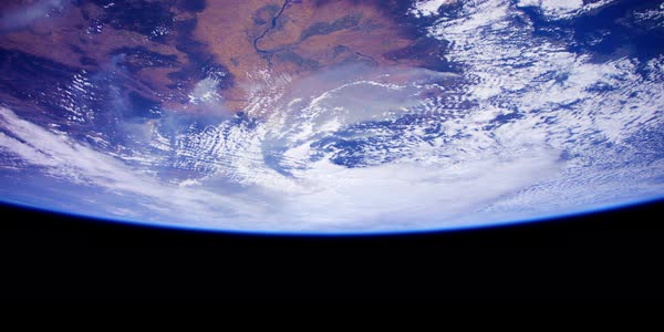 Amazing shots of earth from the International Space Station in 4k. Royalty-free stock video