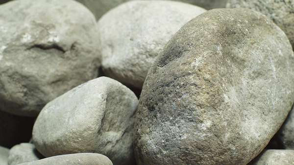 Stop motion of moving stones Royalty-free stock video