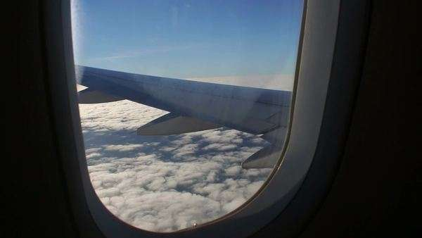 Awesome Airplane Window Seat View Of Wing Of Plane On D587 48 017 Beatyapartments Chair Design Images Beatyapartmentscom