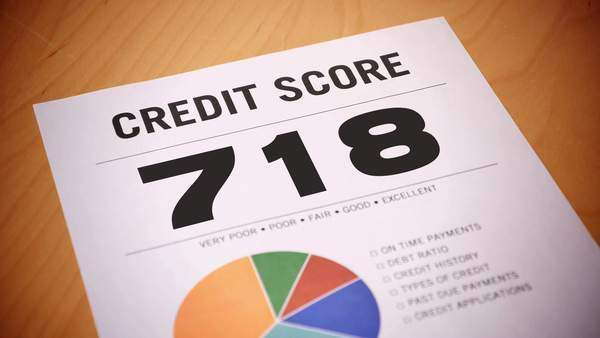 A fictional credit report counts down. Royalty-free stock video
