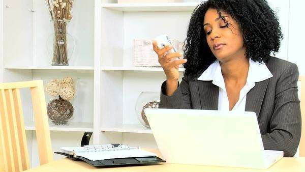 African American,ethnic,businesswoman,female,home,young,business,consultant,financial,advisor,working,environment,self,employed,freelance,technology,laptop,planner,ambitious,appointments,deadlines,people,career,employment,professional,indoors,determined,stress,contractual,disappointment,expertise,internet,computer Royalty-free stock video