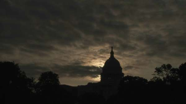 A timelapse of the Capitol Building in Washington DC. Royalty-free stock video