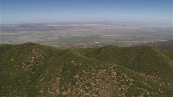 A helicopter aerial of the Salinas Valley California. Royalty-free stock video