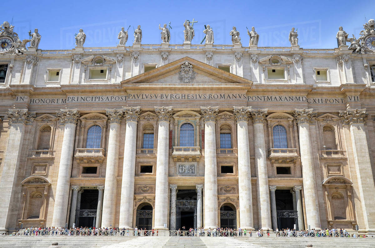 st peter s basilica in rome italian renaissance architecture and