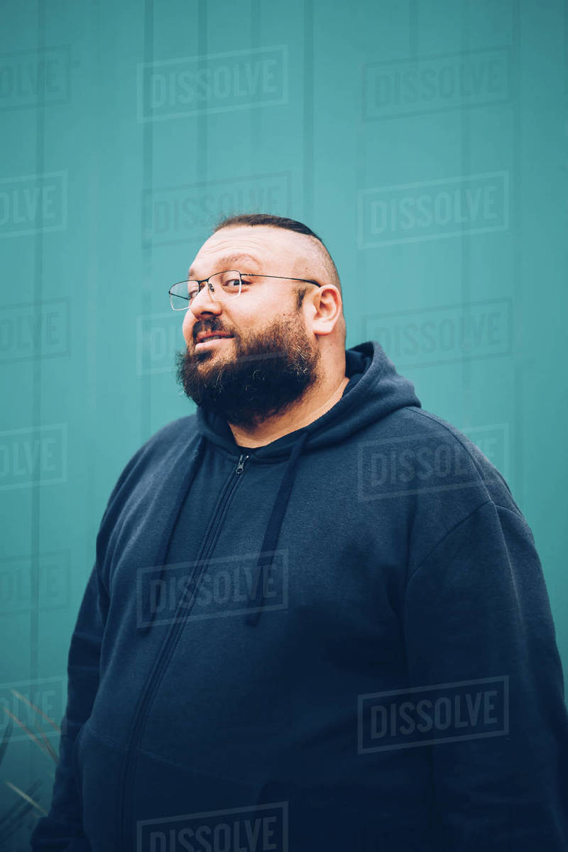 Portrait Of Happy Middle Aged Man Royalty-free stock photo