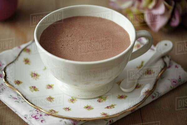 A cup of cocoa Royalty-free stock photo