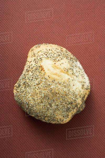A poppy seed roll Royalty-free stock photo