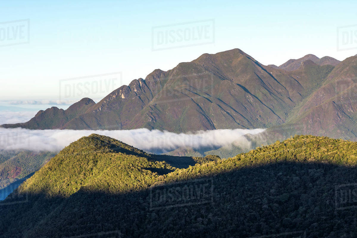 Majestic natural scenery of mountains of serra fina itatiaia majestic natural scenery of mountains of serra fina itatiaia national park mantiqueira mountains rio de janeiro state brazil voltagebd Images