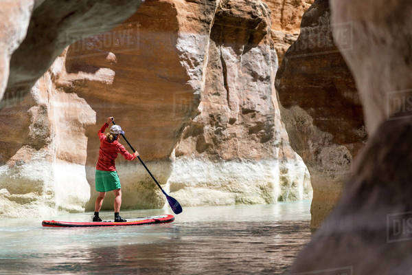 Stand Up Paddle Boarding Royalty-free stock photo