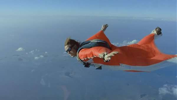 Skydiving Rights-managed stock video