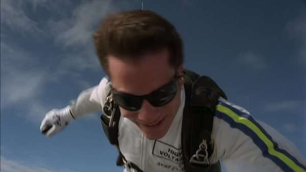 Skydiver Rights-managed stock video