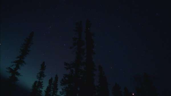 Hyperlapse of an aurora Rights-managed stock video