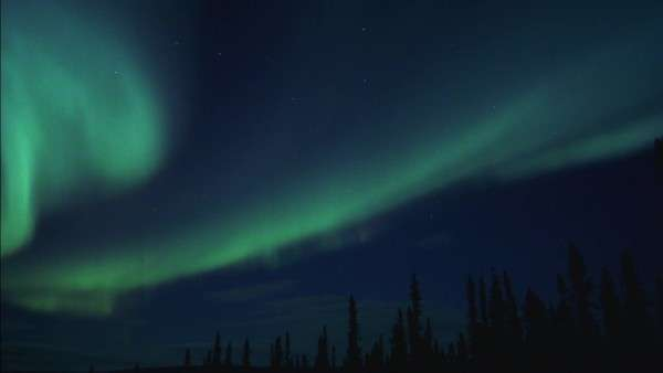 Timelapse of northern lights Rights-managed stock video