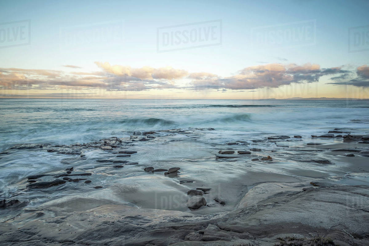 Hospital's Reef on a December morning Royalty-free stock photo