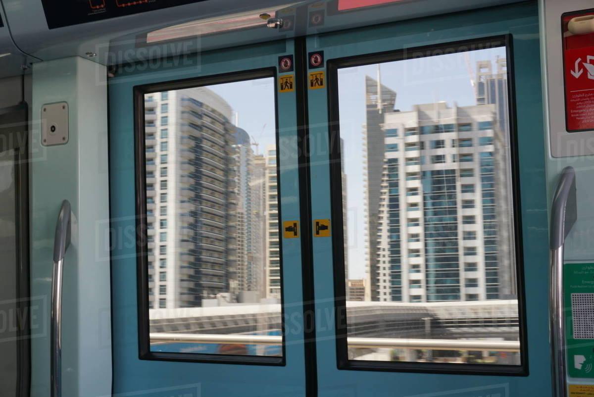 Metro in dubai Royalty-free stock photo
