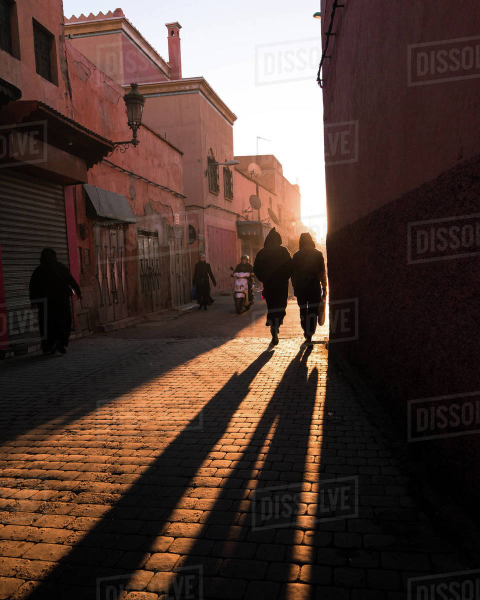 Marrakech Morning Royalty-free stock photo