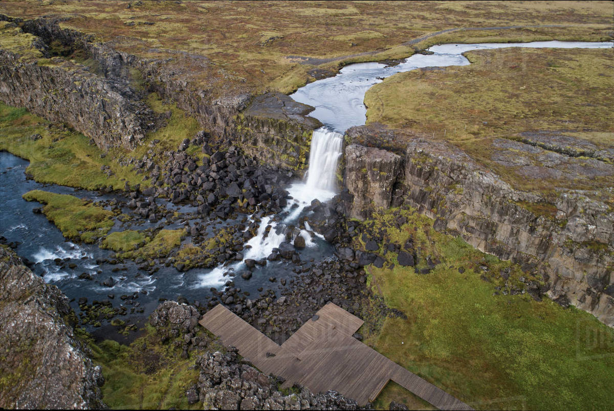 Pingvellir  national park in Iceland Royalty-free stock photo