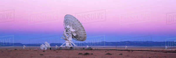 Very Large Array Radio Telescope Royalty-free stock photo