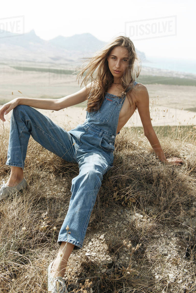 from Toby naked girls wearing overalls