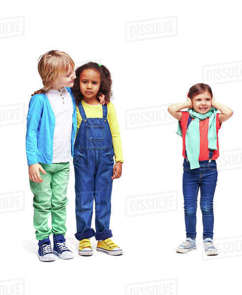 Cute children playing in kindergarten Royalty-free stock photo