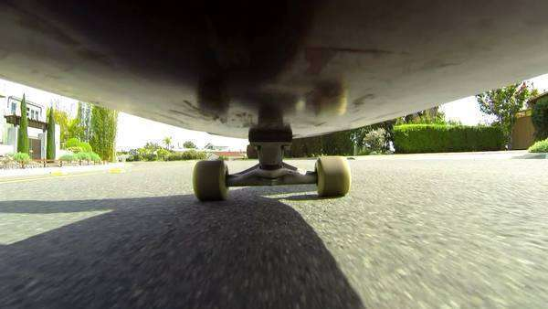 POV Skateboard Royalty-free stock video