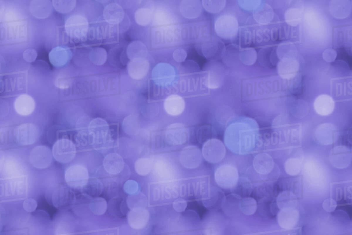 Full frame of purple bokeh texture stock photo