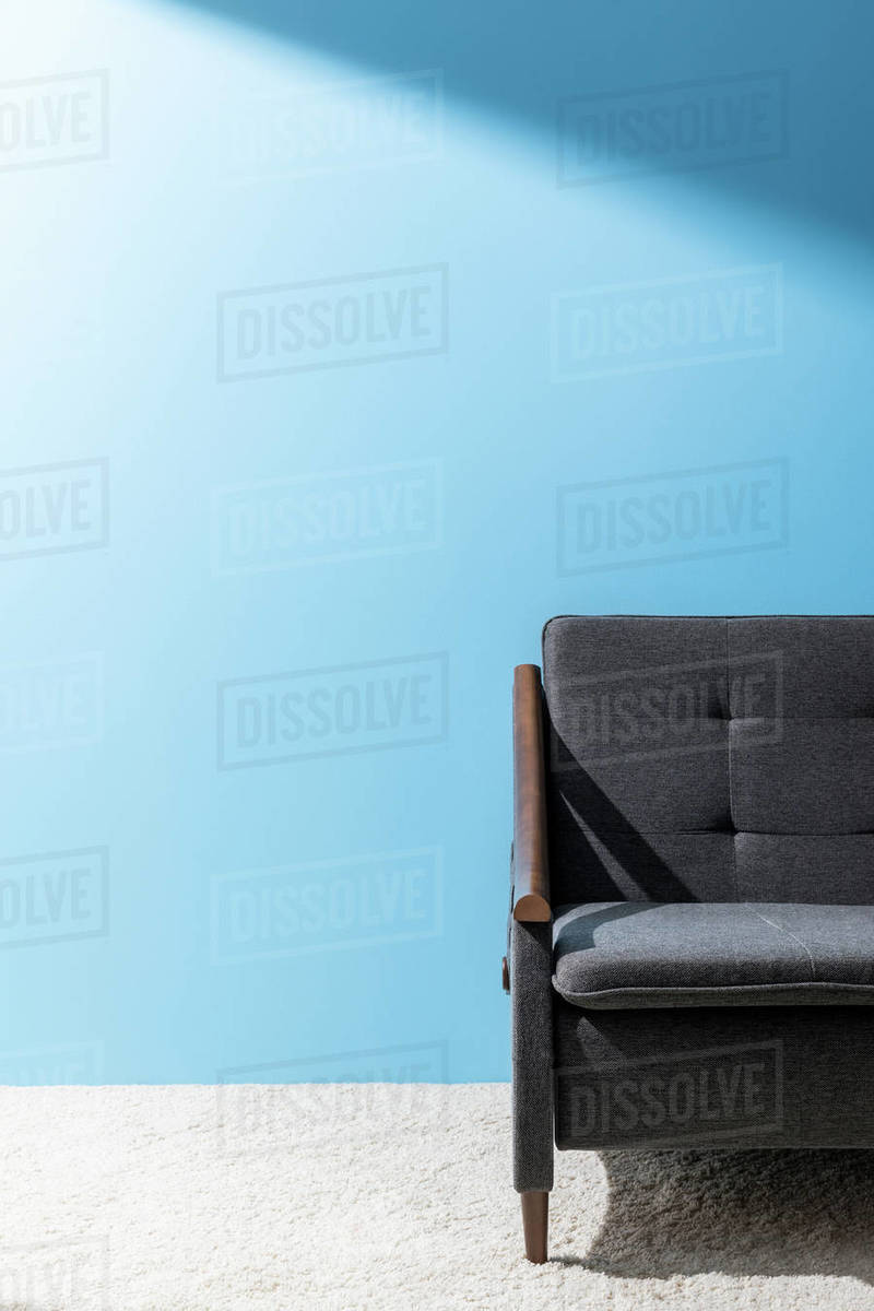 Phenomenal Comfy Grey Couch In Front Of Blue Wall D2115 285 797 Uwap Interior Chair Design Uwaporg
