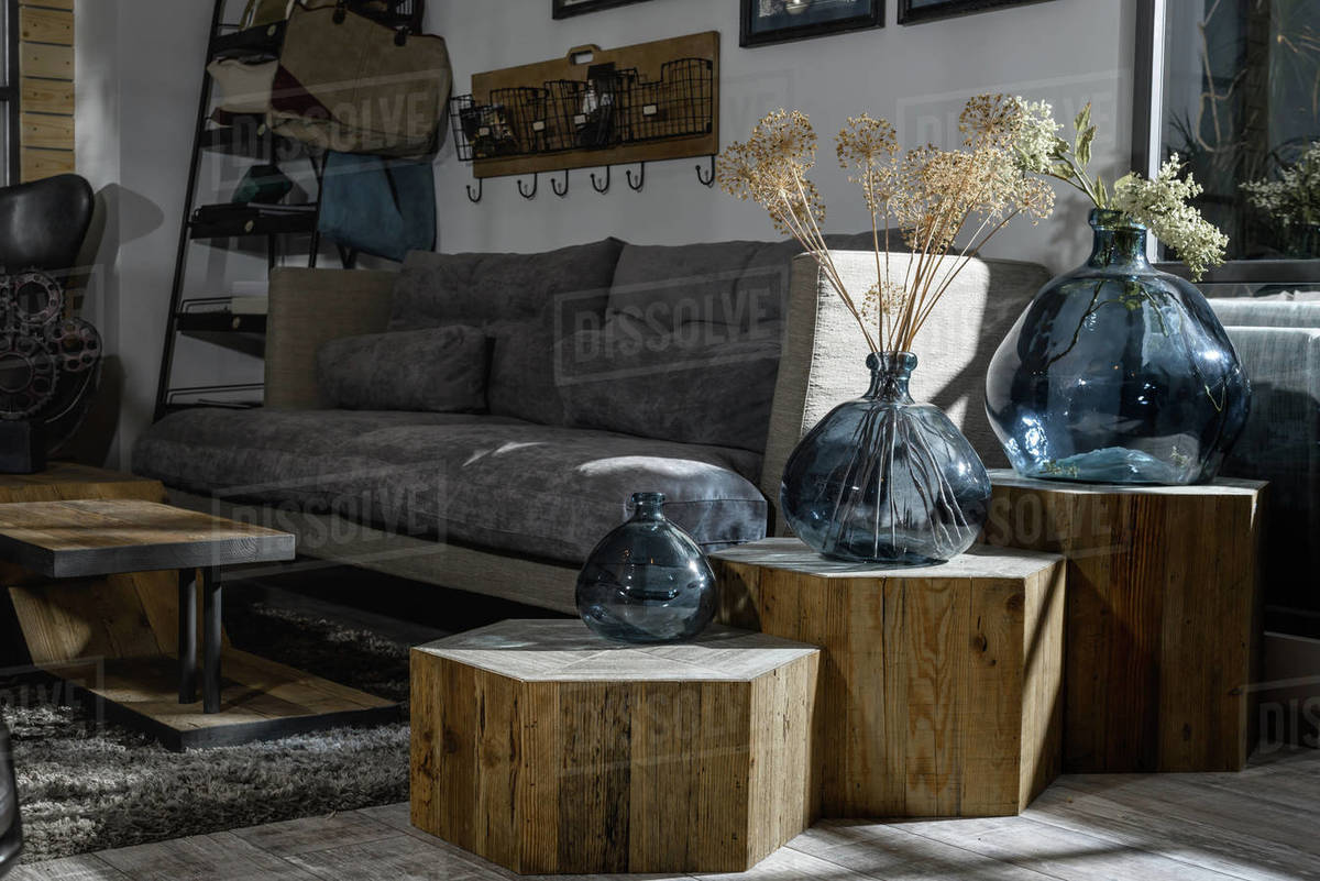 Modern Retro Styled Living Room