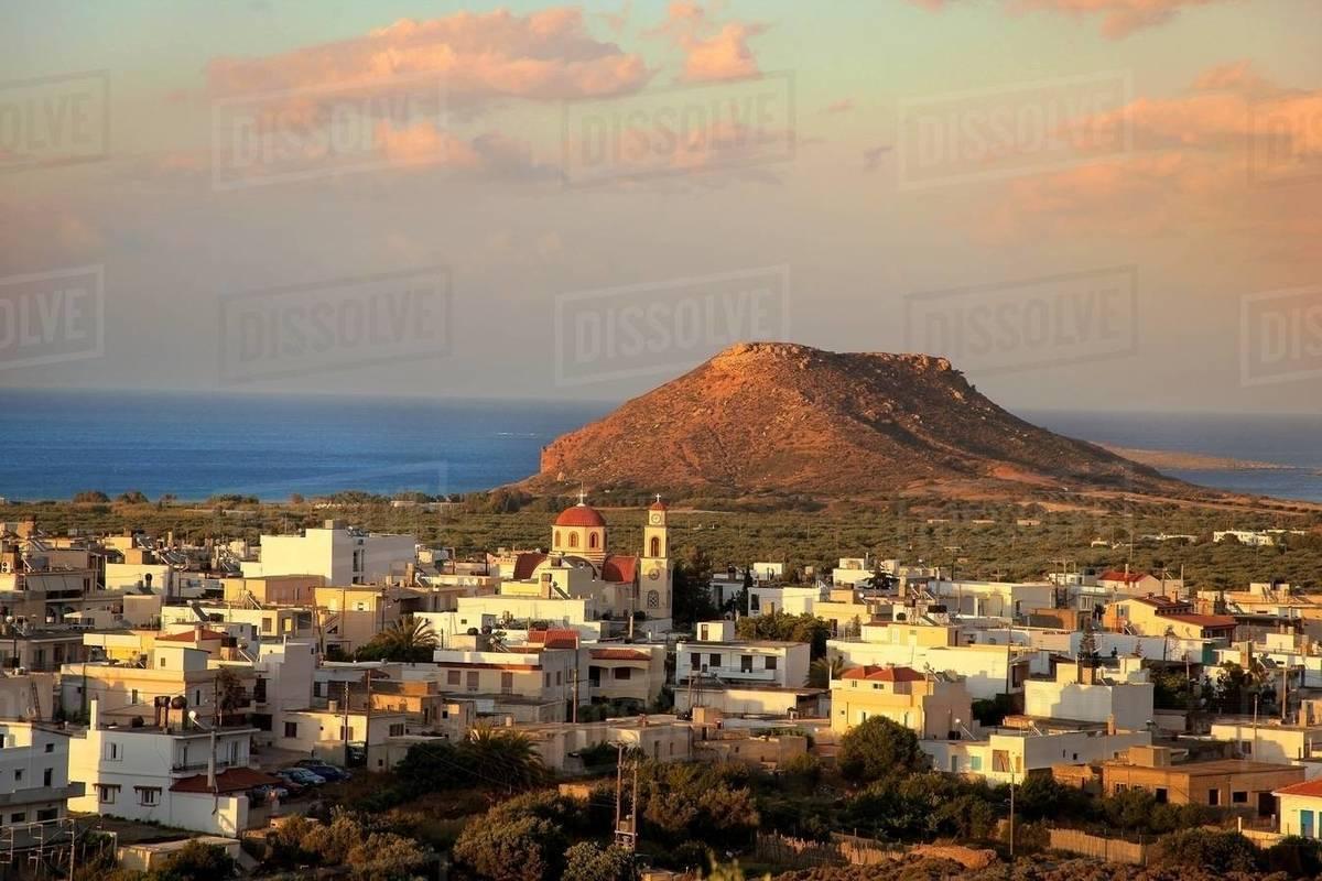 Palekastro Crete Island Greek Islands Greece Europe Stock Photo