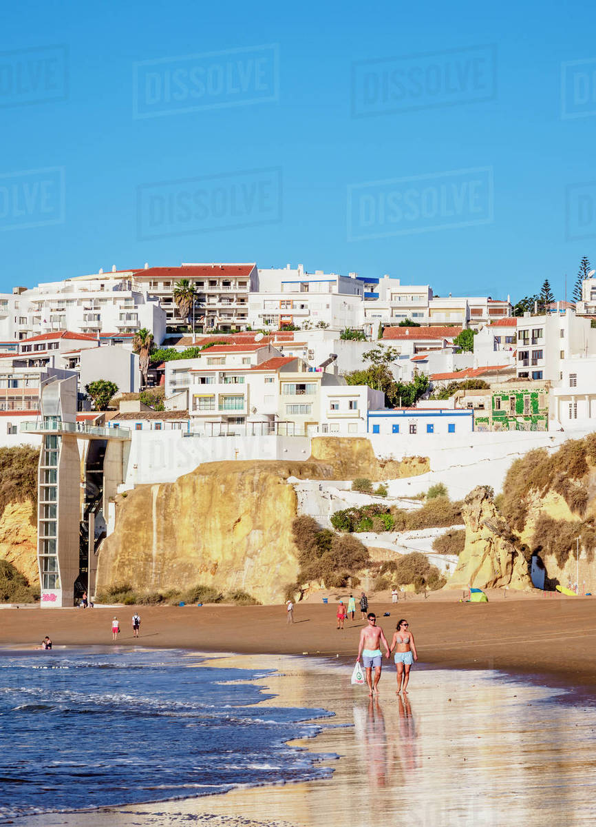 Paneco Beach, Albufeira, Algarve, Portugal, Europe Royalty-free stock photo