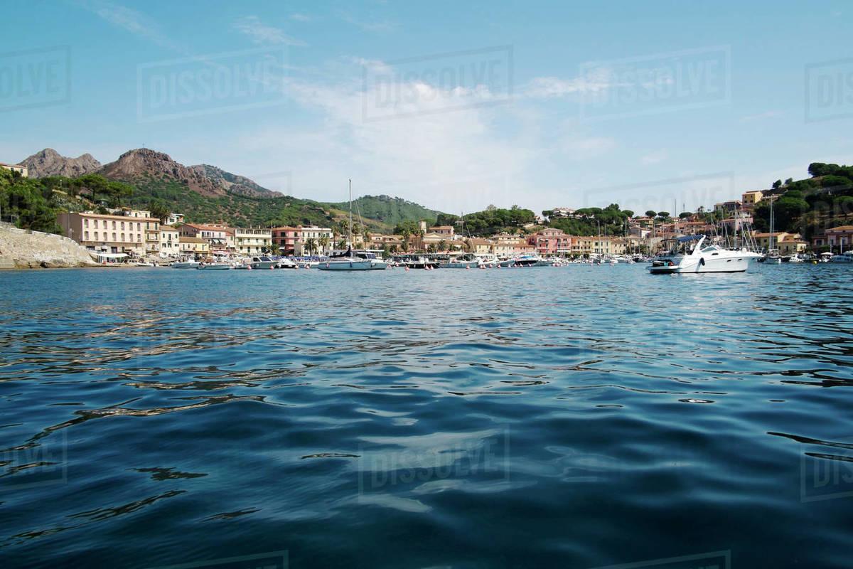 Porto Azzurro, Elba Island, Tuscany, Italy, Europe Royalty-free stock photo