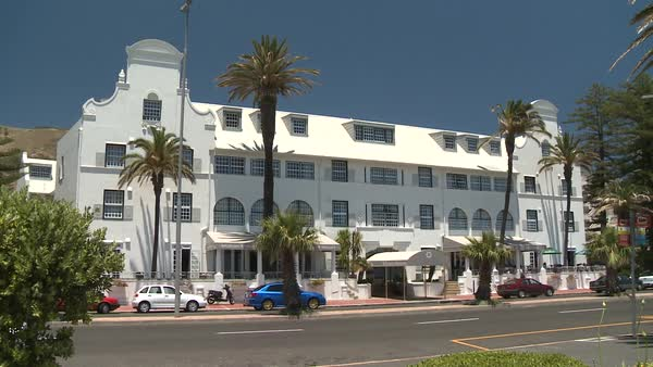 Winchester Mansions Hotel in Sea Point, Cape Town, South Africa Royalty-free stock video