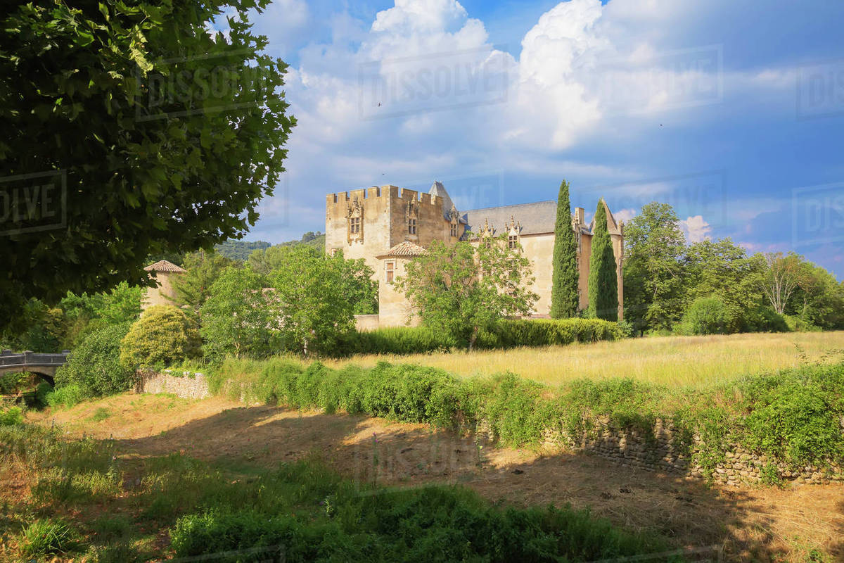 chateau in provence france