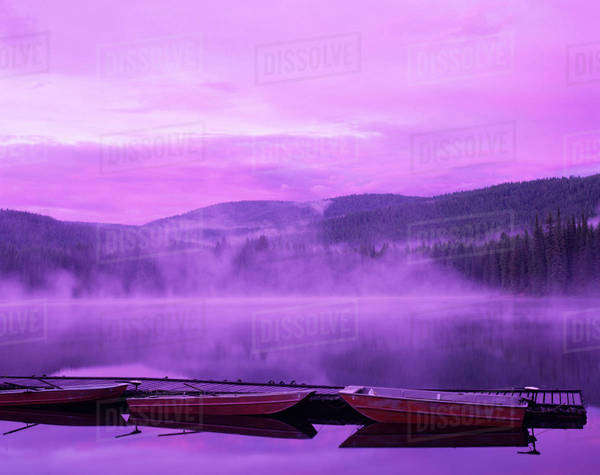 WA, Coleville NF, Lake Gillette Royalty-free stock photo