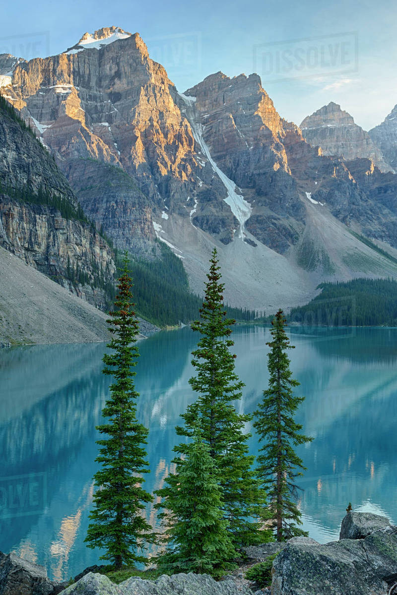 Moraine Lake And Valley Of Ten Peaks Banff National Park