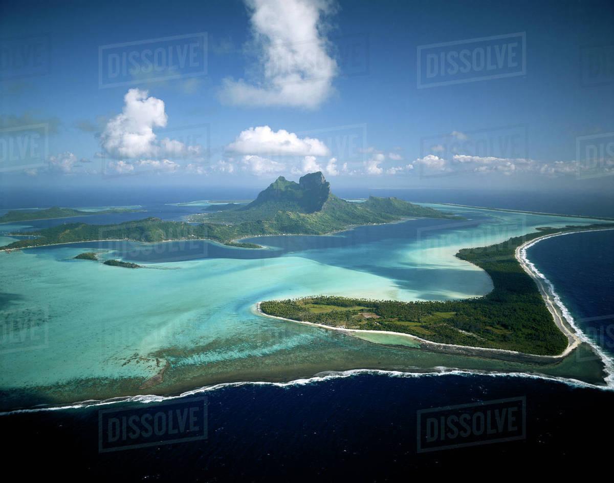 French Polynesia Tahiti Bora Bora View Of Island D256 51 793