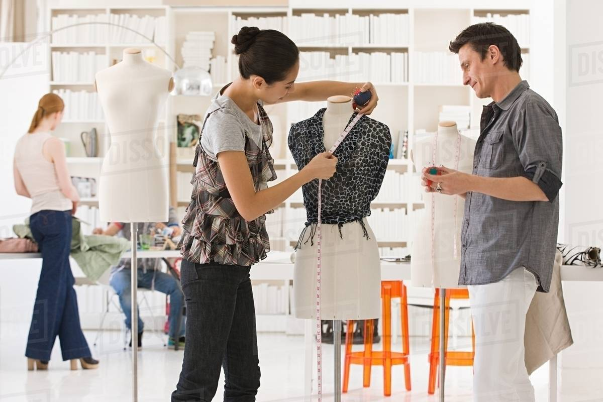 fashion designers at work stock photo dissolvefashion designers at work