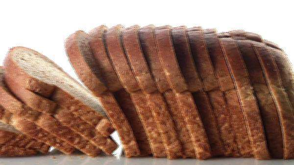 A loaf of sliced bread Royalty-free stock video