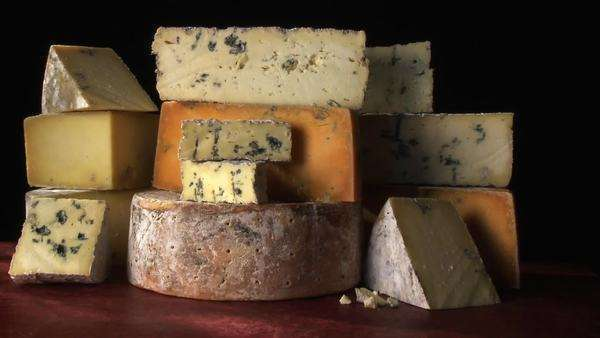 Various cheeses Rights-managed stock video