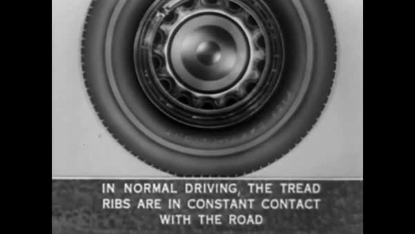 1940 - The pros and cons of different types of rubber tires