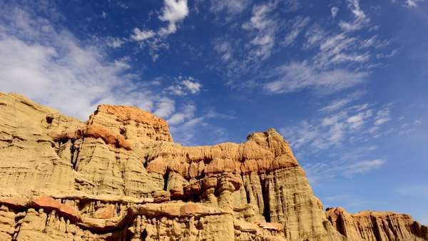 Timelapse of Scenic Red Rock Canyon Daytime - 4K Royalty-free stock video