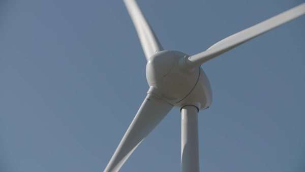 Close-up of a windmill Royalty-free stock video