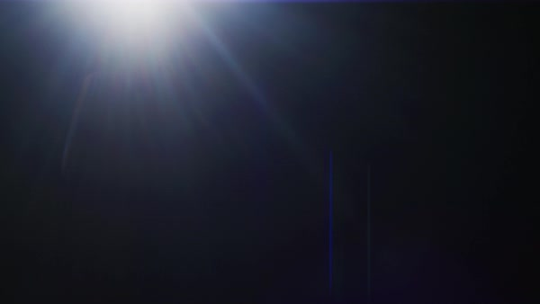 98f9488d6a08 Horizontal moving light on black background. Real lens flare with  anamorphic effect. Fx special