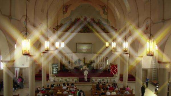 A church service. Royalty-free stock video