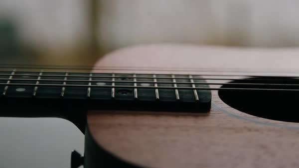 Acoustic Guitar Stock Videos Dissolve